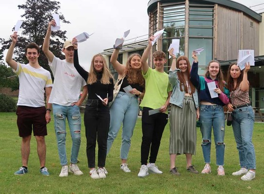 A Level Results Day 2019 Paston College