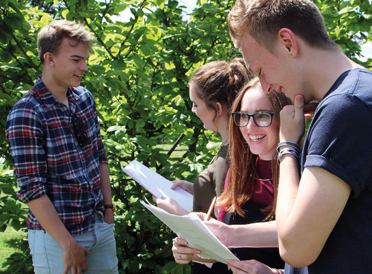 excellent results at paston college