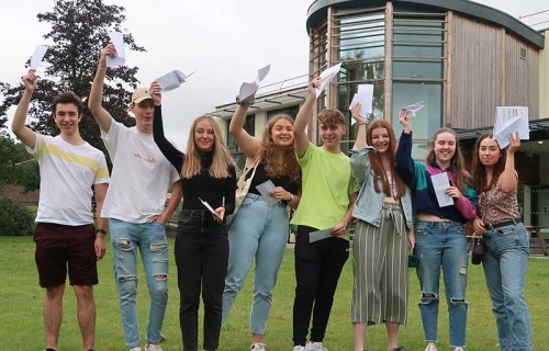A Level Results Day 2019 Paston College v2
