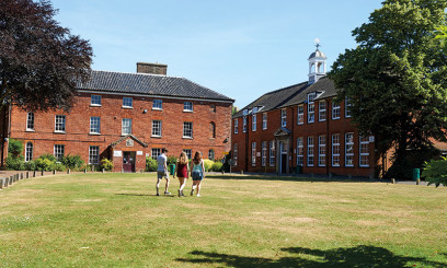 Paston College Griffons Campus exterior