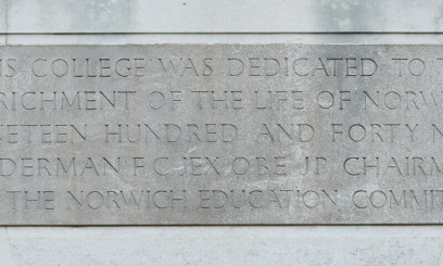 Historic sign from City College